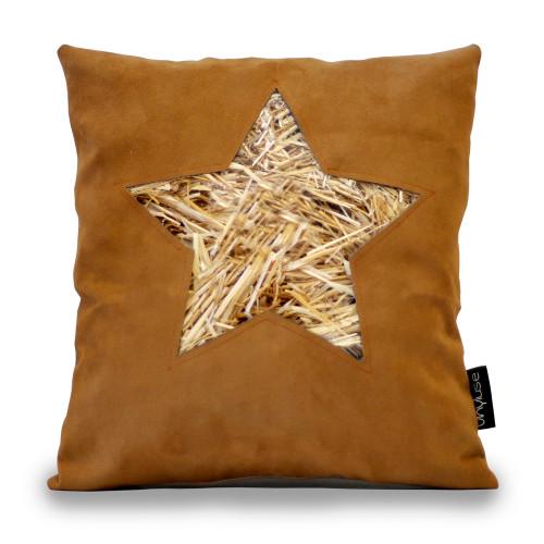 Cuscino stella avana
