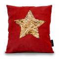 Cuscino Stella Rosso