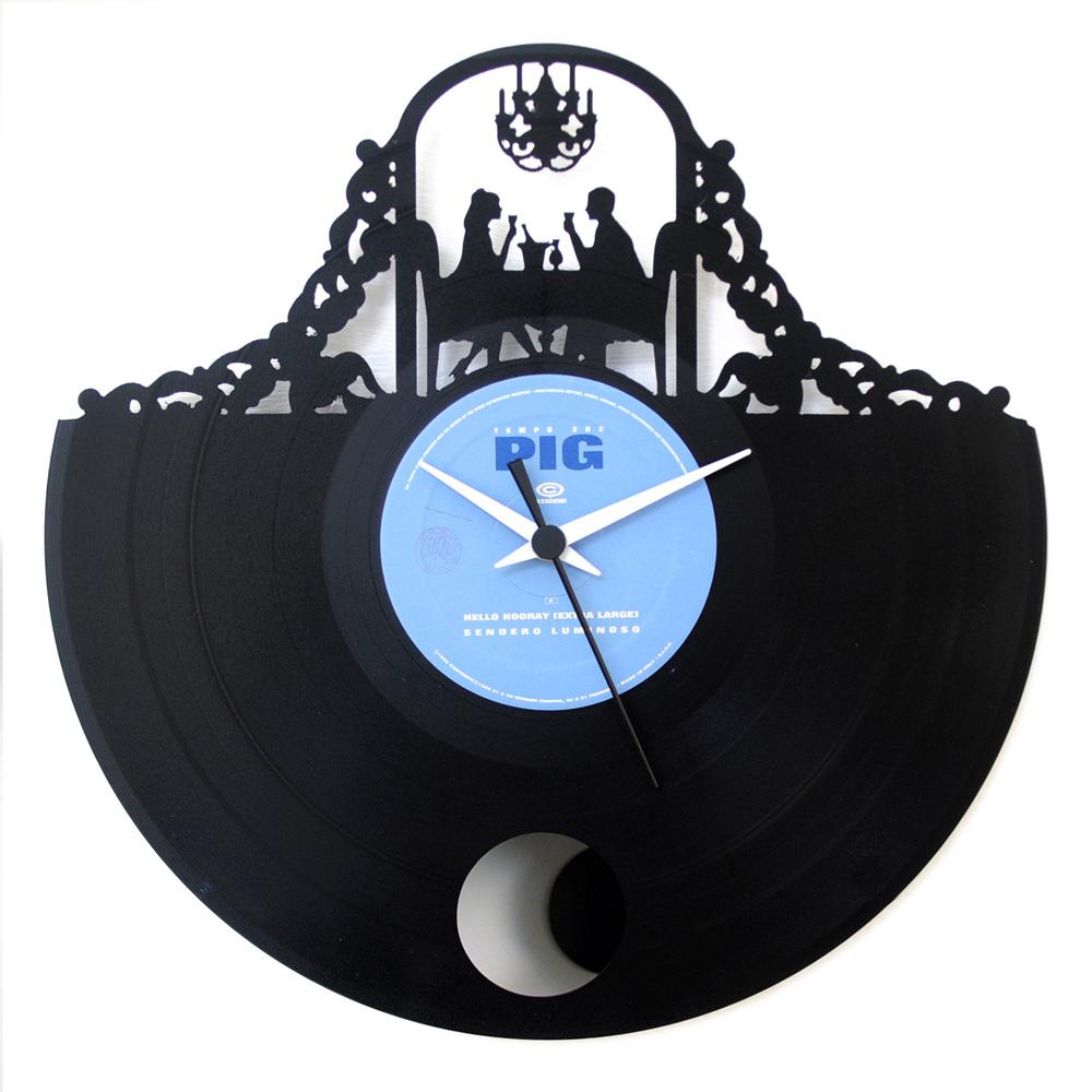 Appendere 33 Giri orologio stile romantico