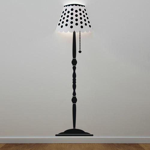 Lampada sticker da parete