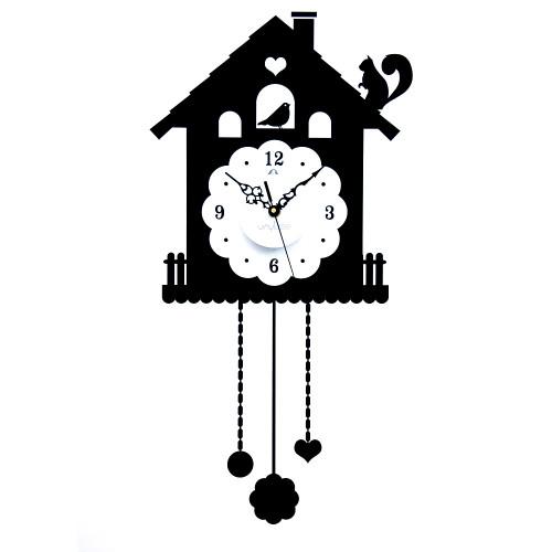 Orologio a pendolo stickers da parete
